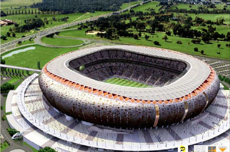 Soccer City South Africa Stadium